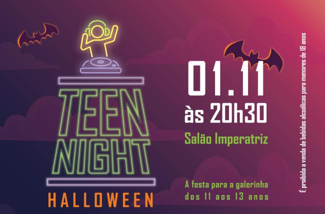 Segunda edição da Teen Night já tem data