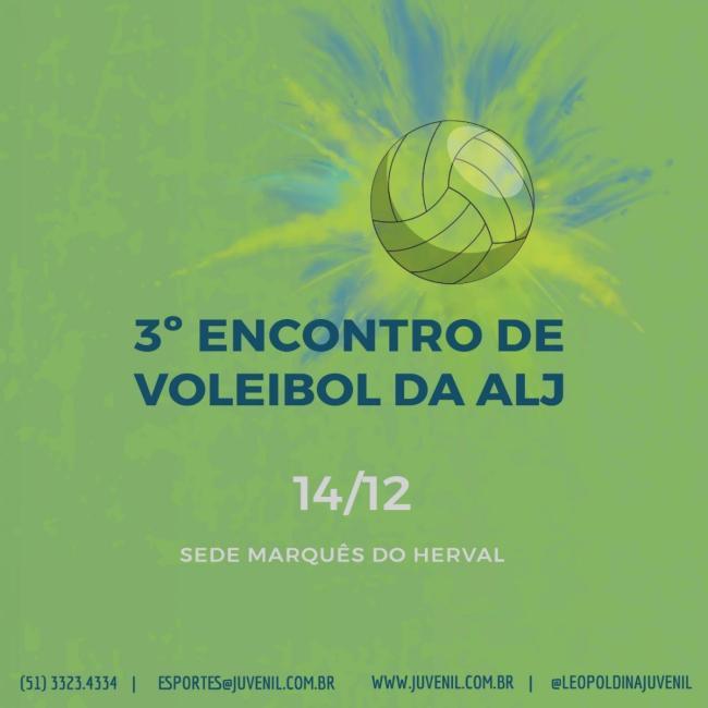 3º Encontro de Voleibol da ALJ