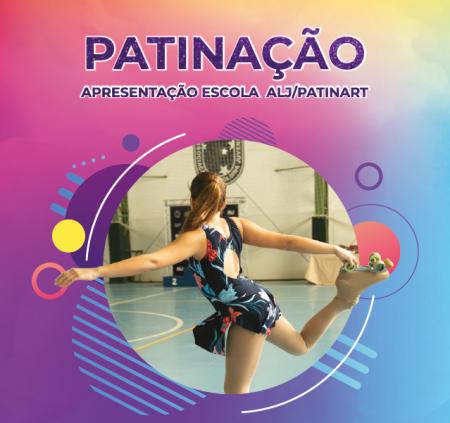 Apresentação da Escola de Patinação Artística ALJ/Patinart 2019