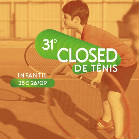 31º Closed da Escola de Tênis Infantil ALJ 2021