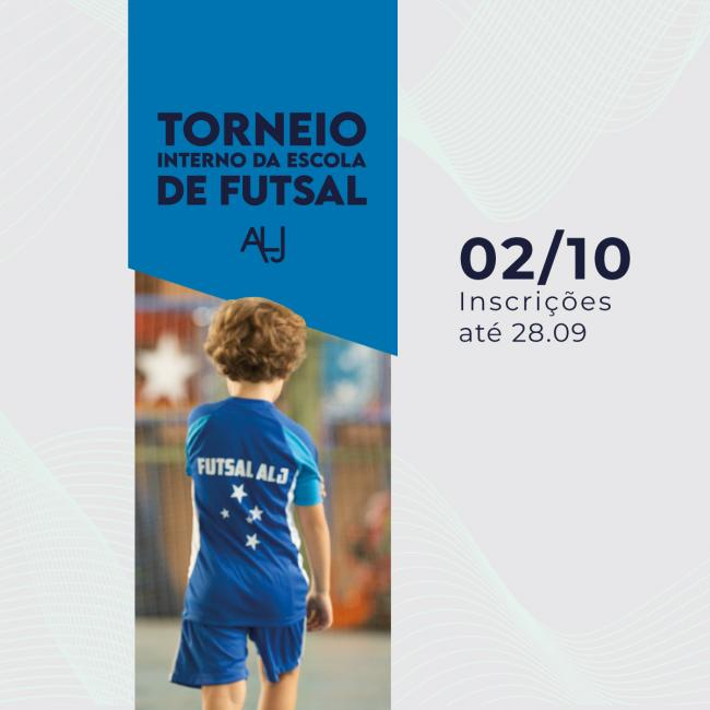 Torneio Interno da Escola de Futsal ALJ é atração na Sede MH