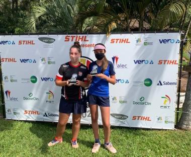 No CTG em São Leopoldo, três vices para tenistas associados
